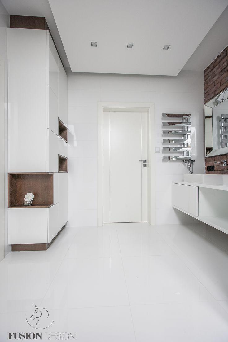 Bathroom in Wilanów, foto: Łukasz Matczak