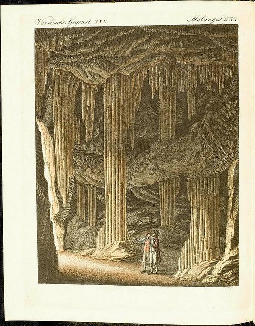 Limestone cave by peacay, via Flickr