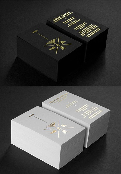 A Collection Of Elegant Business Cards With Gold Designs   Naldz Graphics