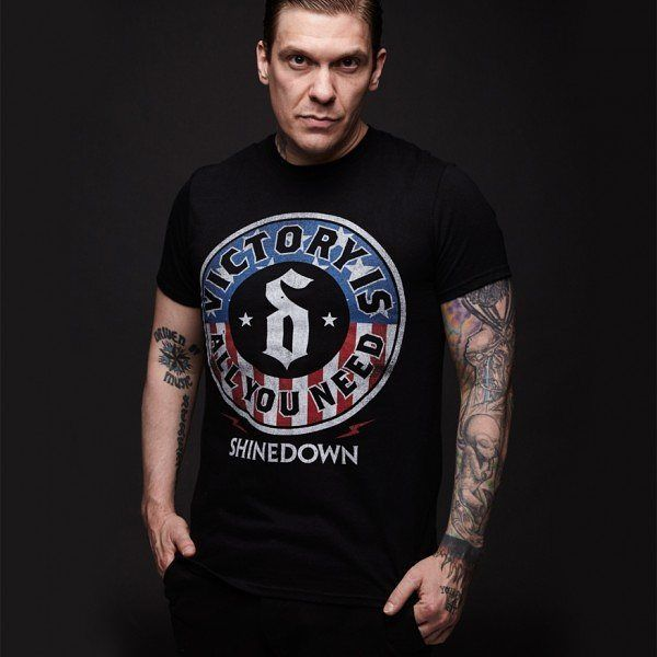 Check out the merch here: http://store.shinedown.com/united-seal-t-shirt-6.html  #Shinedown #BrentSmith