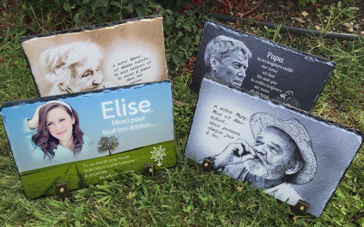 un nouveau créateur de plaques funéraire : Ardoise Souvenir. Il propose, sur sa boutique exclusivement en ligne, un support noble et original : l'ardoise.