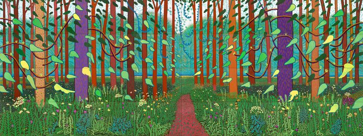 david hockney yorkshire