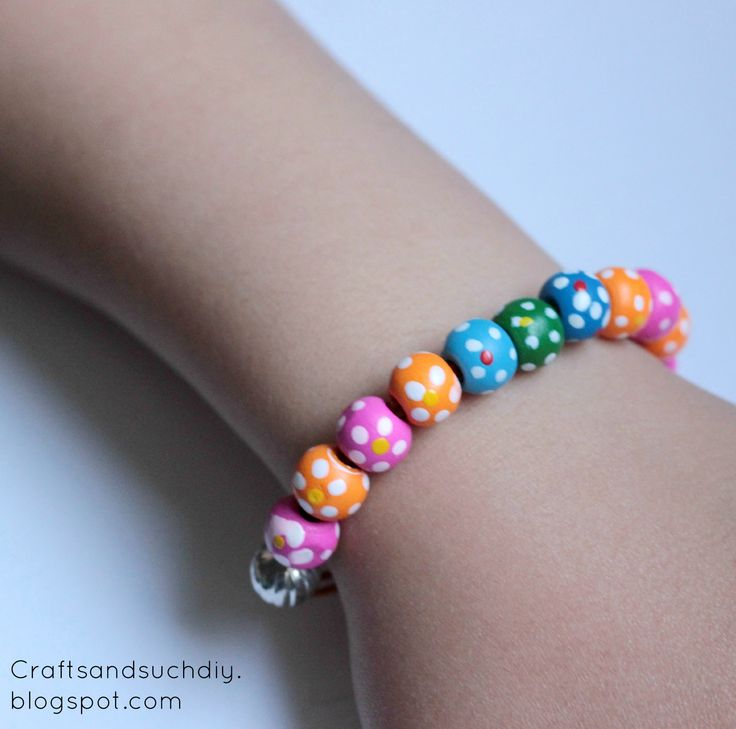 Quick & Easy Colourful Beaded Bracelet