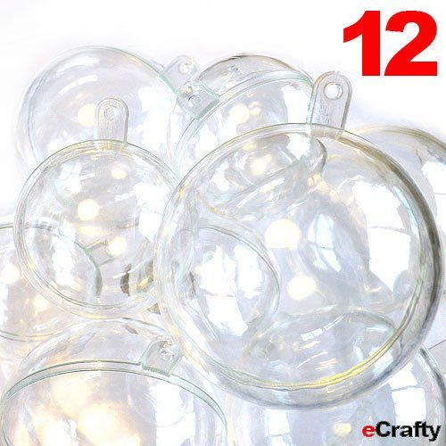 17 best images about 2013 pinterest party supplies on for Clear plastic balls for crafts