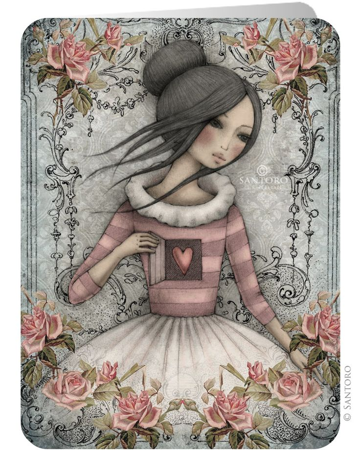 Santoro's Eclectic Cards - The Secret - Greeting cards from Santoro