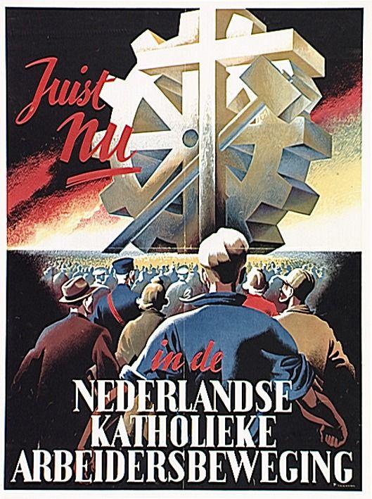 Propaganda van de Katholieke ArbeidersBeweging