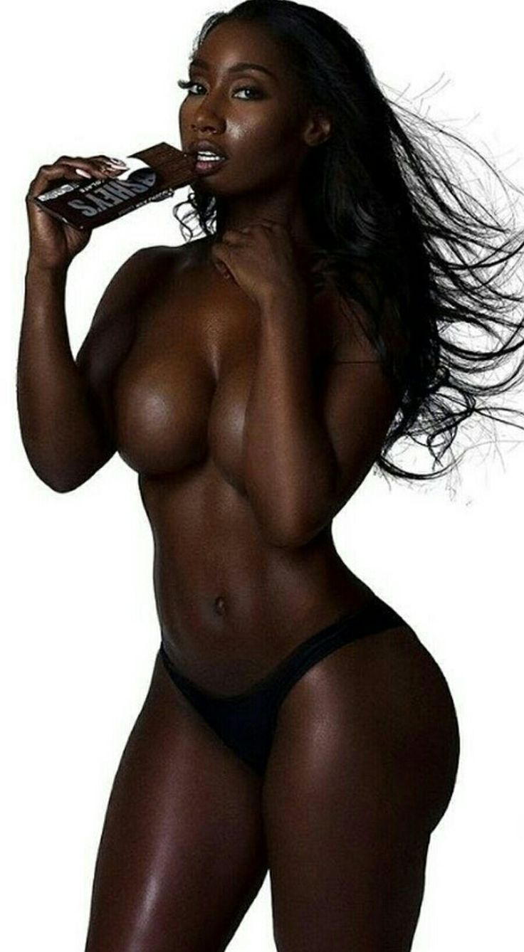 dark skinned black models naked