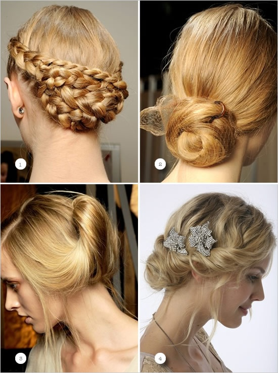 Hair styles for brides or Bridesmates