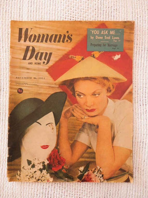 Woman's Day and Home magazine November 26 1951 by freshdarling