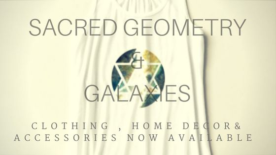Sacred Geometry | Galaxy Clothing and Accessories by Kari Weatherbee now on Zazzle