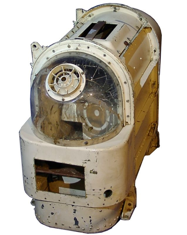 Original Soviet space dog environmentally controlled safety module used on sub-orbital and orbital spaceflights
