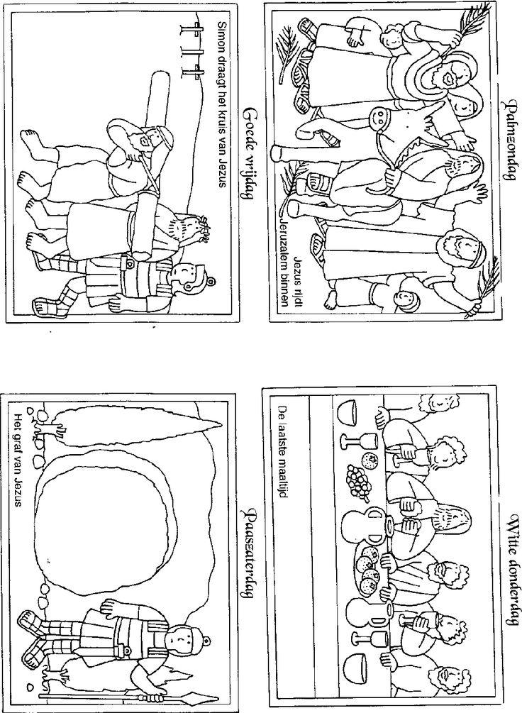 Pasen  kleurplaat-goedeweek.gif (1048×1432) van www.kindengeloof.nl