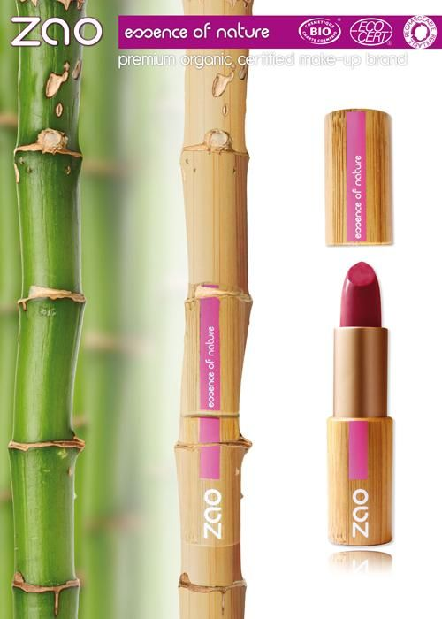 To make ZAO an innovative makeup line in every stage of its conception, we have chosen a natural packaging: bamboo.