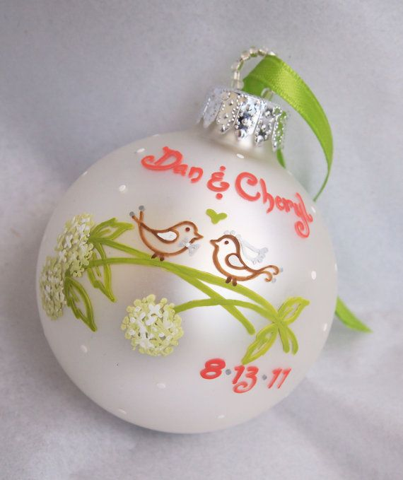 hand painted ornament ideas