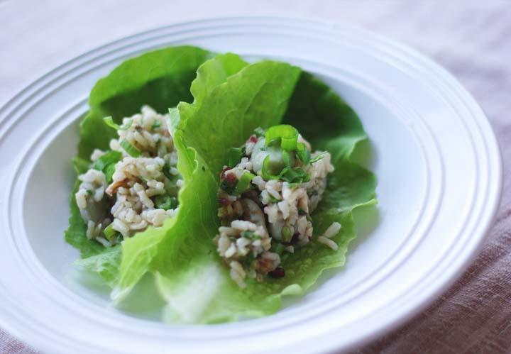 Fave Bean and Brown Rice Salad | Vegetarian | Pinterest