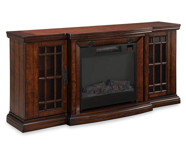 "60"" Low Profile Electric Fireplace with Bluetooth® Speakers at Big Lots."