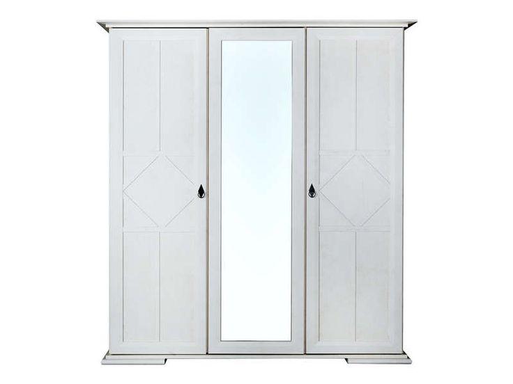 Elegant soldes armoire portes romy coloris chne blanchi prix soldes armoire conforama uac ttc au - Conforama soldes armoire ...