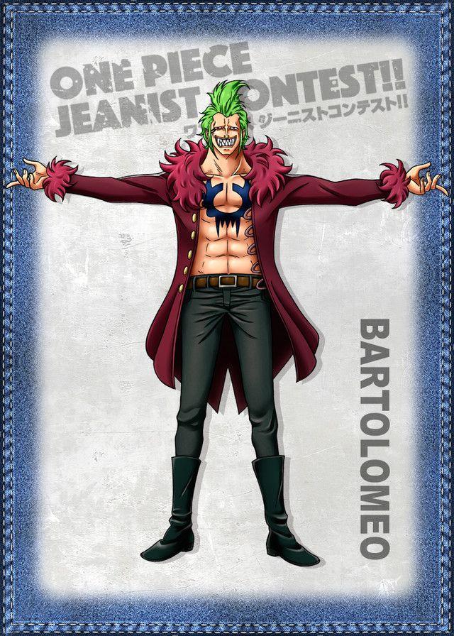 Banpresto lanzó su sitio Jeans Freak con un concurso Jeanist Contest de One Piece. Del 21 de julio al 21 de agosto, los fans podrán votar por el personaje que luce mejor en jeans. El concurso permite a los fans votar por su favorito o favorita una vez por día, y al parecer, al final habrá una línea de figuras para premios de arcade que saldrán en invierno.