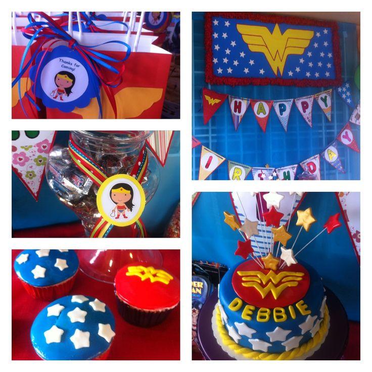 21 best My WonderWoman Party images on Pinterest Wonder woman