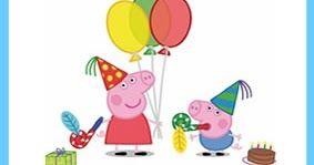 Este post va dedicado a los pequeños de la casa que están enganchadísimos con los dibujos animados de una familia de cerditos rosa que habit...