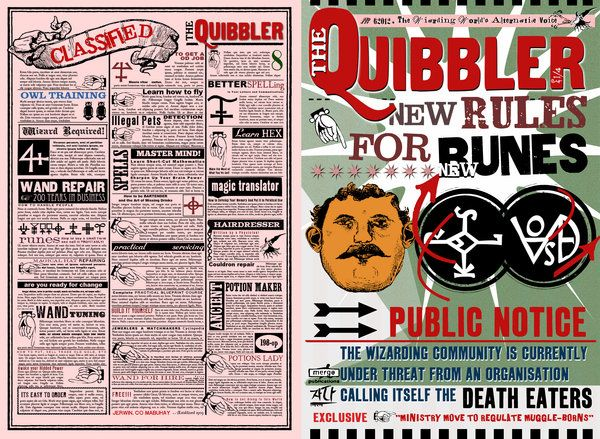 Quibbler page by ~jhadha on deviantART | l u m o s ...Quibbler Printable Pages