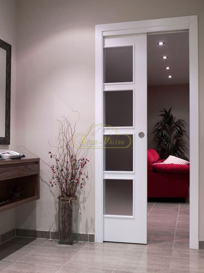 Kitchen Cabinets With Frosted Glass Doors