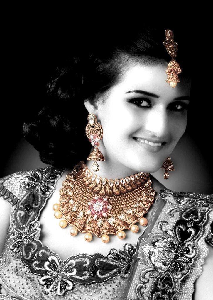 #bridal #jewellery #campaign #shoot #neelkanth #models #priyankaarora   #makeup @seematabassum
