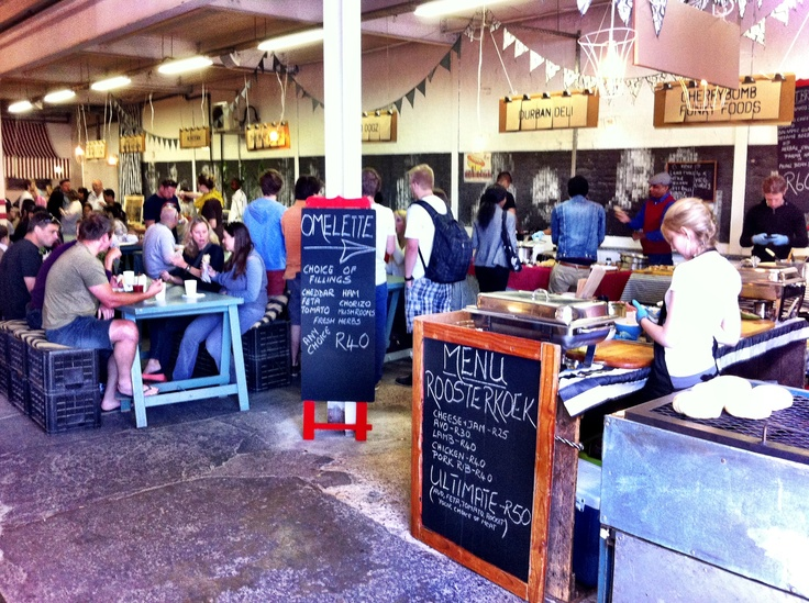 Market on Main in the cool Maboneng district in Johannesberg is a foodie paradise. Very chill & fab vibes.