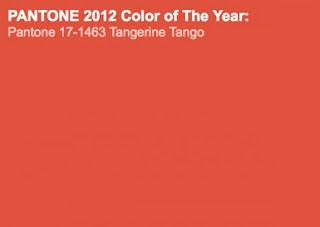 Pantone Colour of the Year 2012 - Tangerine Tango