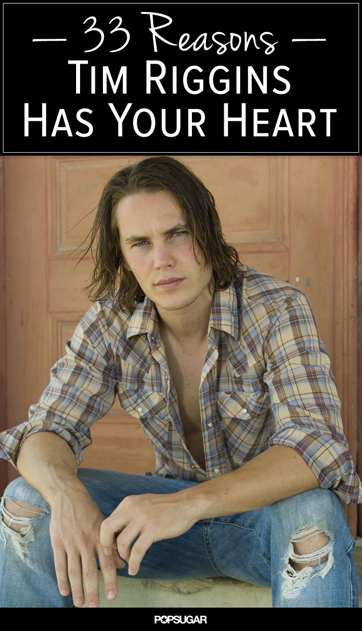 Tim Riggins<3 whoever made this blog is hillarious..  But seriously love him.