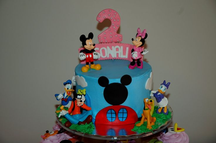 west point academy cakes | Taras Cupcakes: Mickey Mouse Clubhouse Cake and Cupcakes