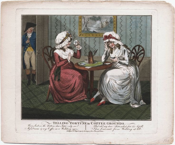 Telling Fortunes in Coffee Grounds, 1790