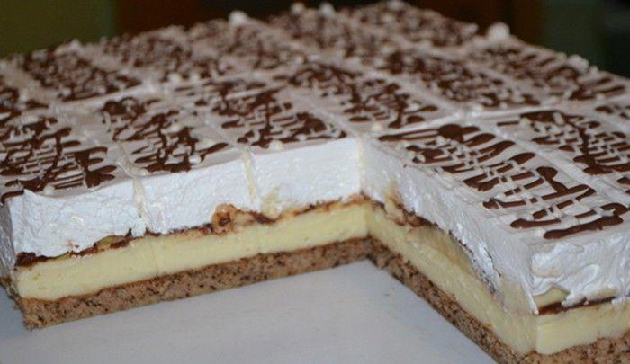 Vynikající banánové dobrodružství s vanilkovým krémem a jemnou čokoládovou glazurou.