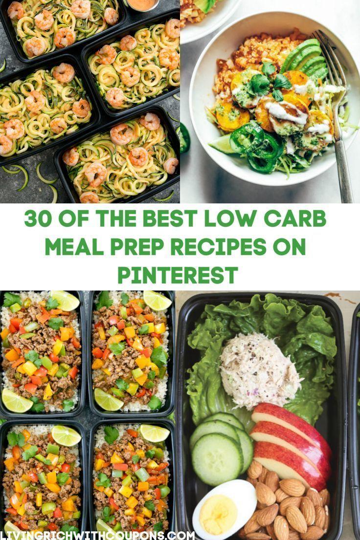30 Carb Meals
