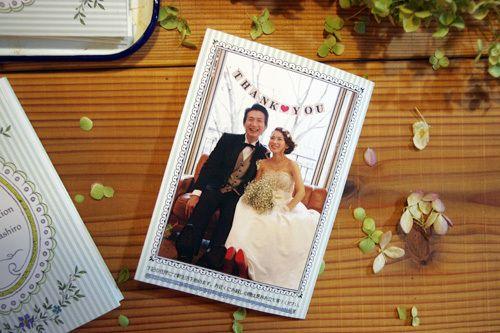結婚式プロフォール帳制作