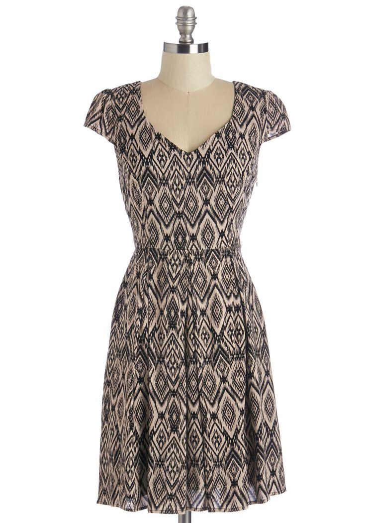 Ikat Take My Eyes Off of You Dress