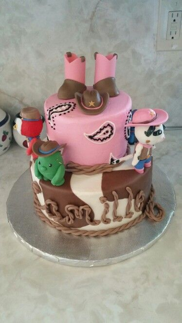 Sheriff Callie cowgirl birthday cake!