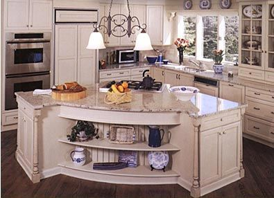 Kitchen Island With Cooktop Jacksonville Florida Bathroom Sinks Cabinets Kraftmaid Medicine