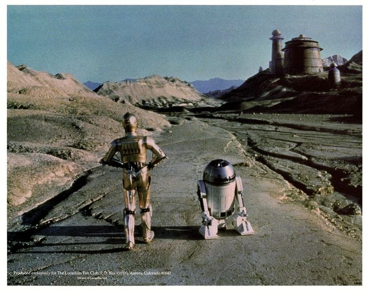 "ANTHONY DANIELS & KENNY BAKER Unsigned 8x10 ""STAR WARS"" C3-PO, R2-D2, Lucasfilm"