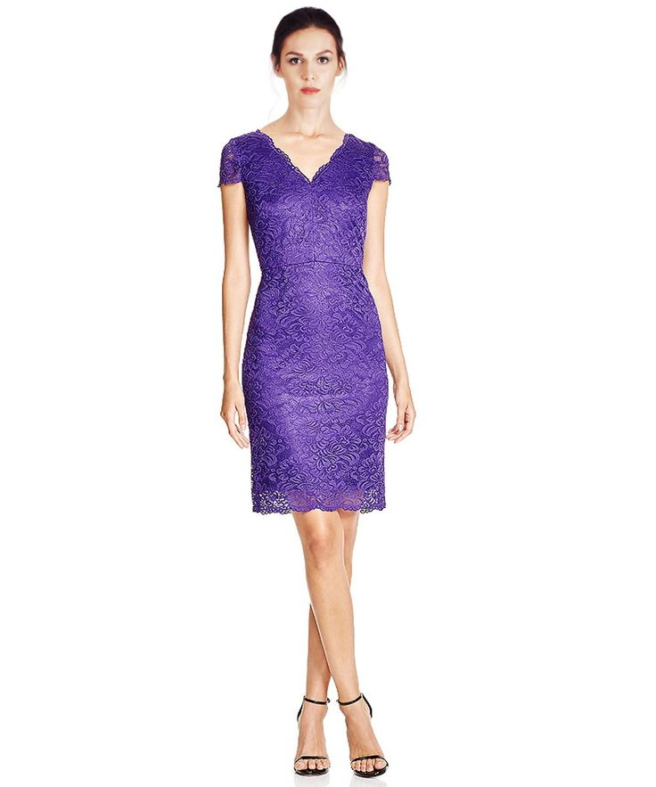 Laundry By Shelli Segal Lace Dress $143 in 14