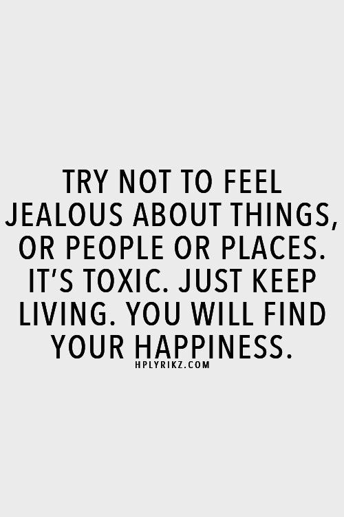 how to tell when someone is jealous