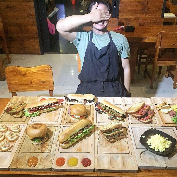 Me & my fusion food...!!!! INDONESIAN SANDWICH.  I just put some kind of indonesian course into breads: - Ayam Cabe Hijau - Tuna Sambal  Matah - Daging Balado - ETC  This is what i do for #indonesiaculinary :) #akucintamakananindonesia  #jktfoodies #jktfoodbang #foodporn #jajananjakarta #eatsjakarta #me #theartofplating #wethefoodies by wirogelehydro