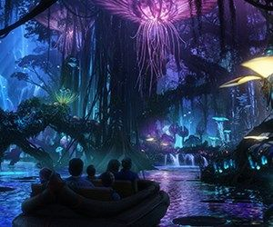 AVATAR land at Disney's Animal Kingdom. My brother is building this!!!!!
