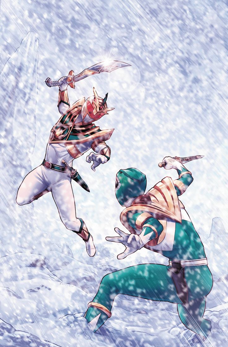 Green Ranger vs Lord Drakkon by Jamal Campbell