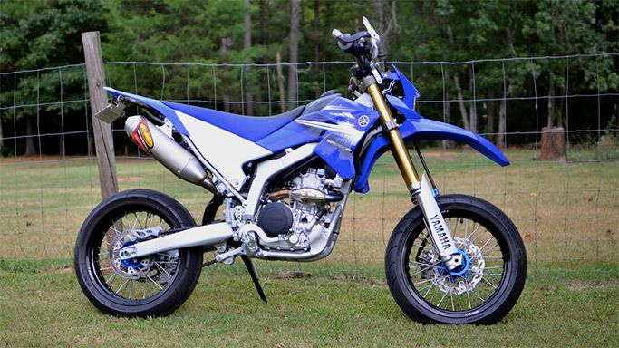 Yamaha Dual Sport Wrr