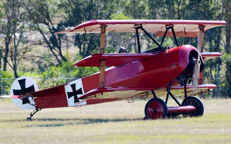 Fokker Dr.I replica VH-FXP - TAVAS