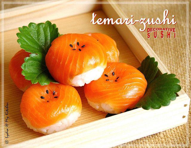 Temari-zushi by Lydia's Corner, via Flickr