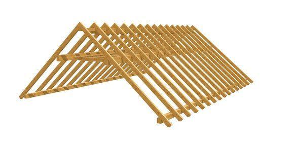 Bauplan Fur Holzkonstruktionen Individuell Anfertigen Holz Bauplan De Dachstuhl Bauen Pavillon Selber Bauen Holz Bauplan