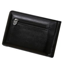 100% High Quality Gold Brand  Men's Mini Zipper  Credit Card ID Coin Holder Money Clip Wallet porte monnaie Free Shipping //Price: $US $3.97 & FREE Shipping //     #bags