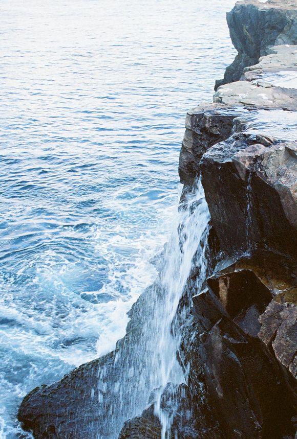 Waterfall in Newfoundland, breathtaking.